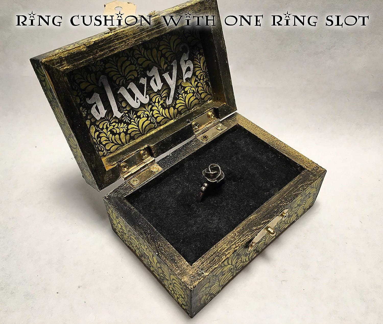 Harry Potter Hufflepuff Hogwarts Inspired Proposal Engagement Ring