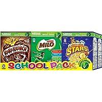Nestle Breakfast Cereal Variety School Pack, 6x20g/25g
