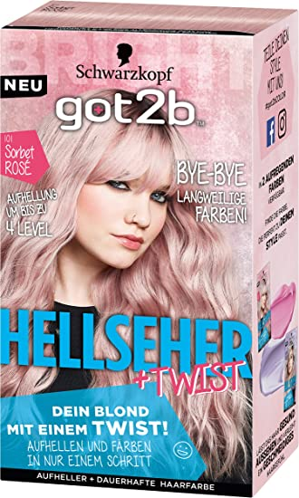 Got2b haarfarbe pink