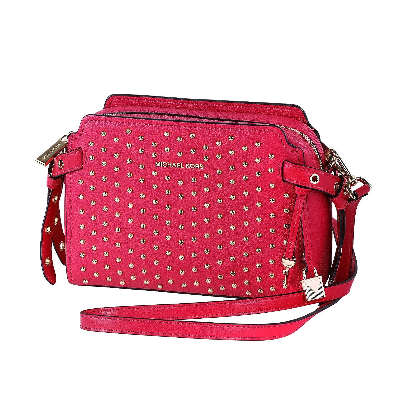 f12c832f2bbc83 Amazon.com: Michael Kors Bristol Ladies Medium Leather Messenger Bag  30H7GZKM2I: Watches