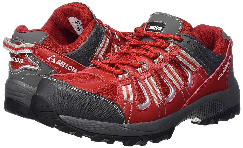 Bellota 72211R45S1P - Zapatos de hombre y mujer Trail (Talla 45), de seguridad con diseño tipo deportivo