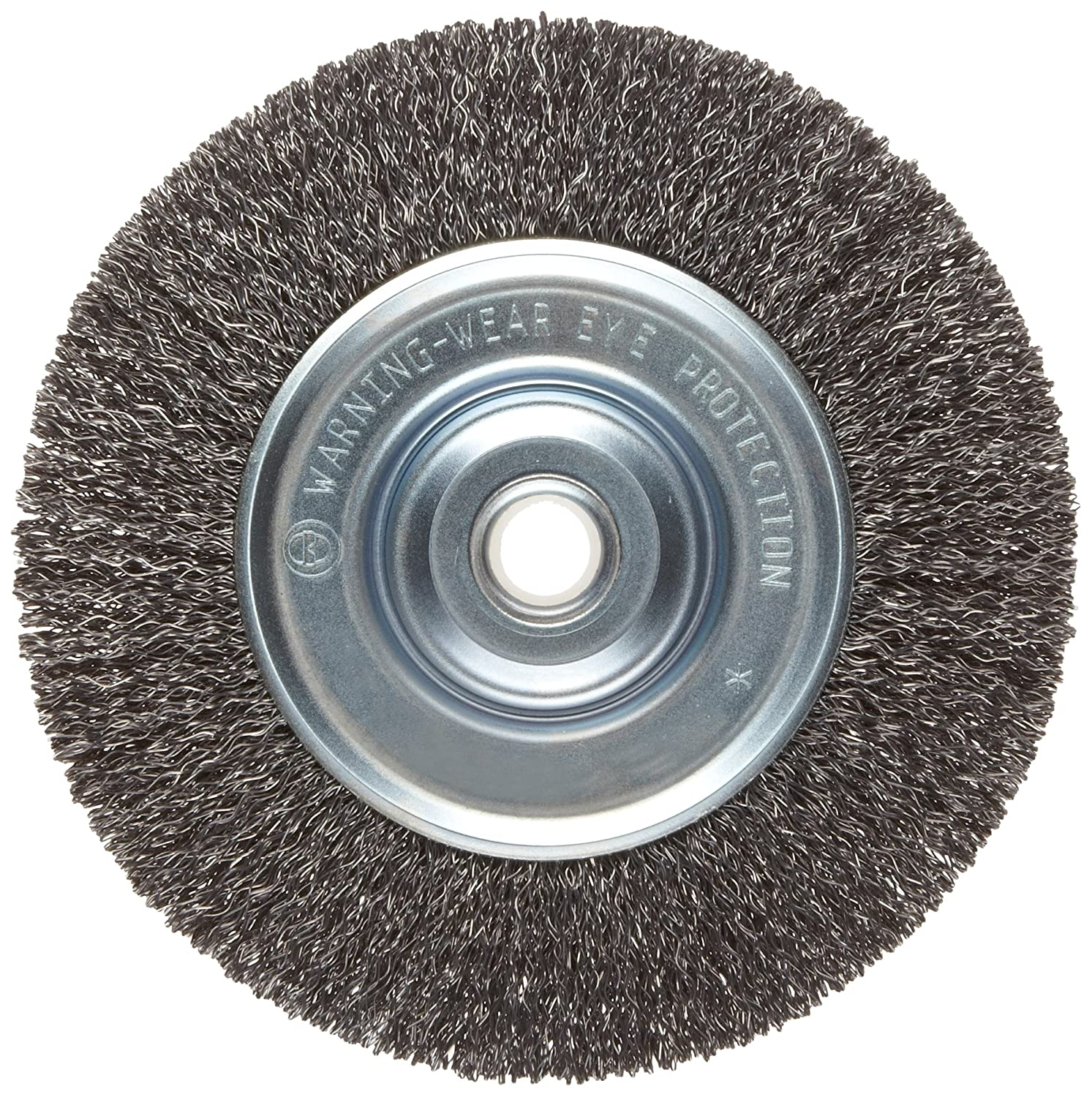 2 Wire Wheel Brush Center Free Body Diagrams Jordan39s Projects Weiler Vortec Pro Medium Face Round Hole Carbon Rh Amazon Com