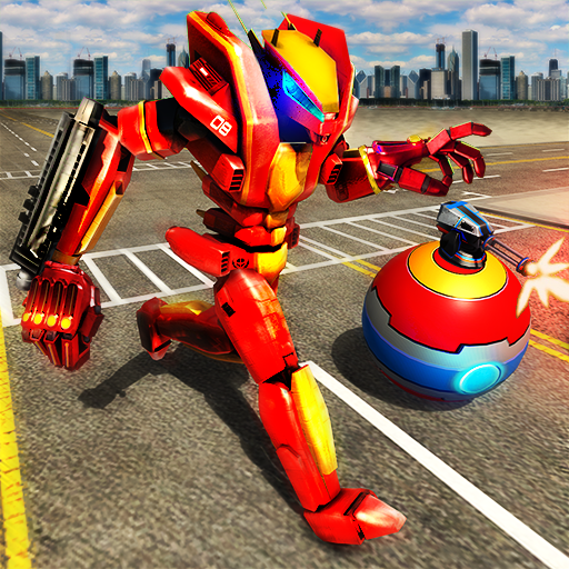 Robot Car Ball Transform -