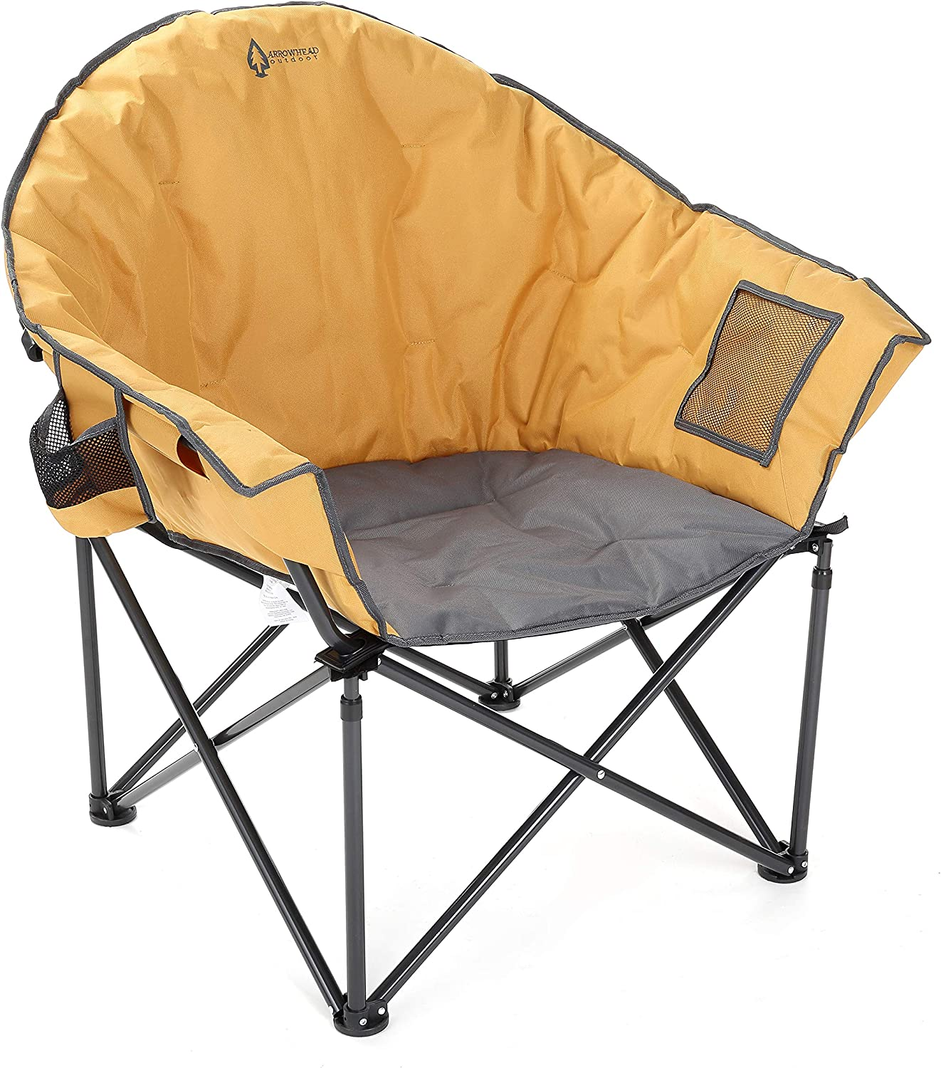 ARROWHEAD Outdoor Oversized Folding Camping Chair