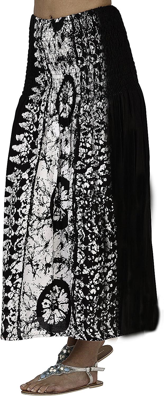 Navy or Black Dannii Matthews Ladies 100/% Viscose Tie Dye 3 in 1 Bandeau//Halter Summer Dress//Maxi Skirt
