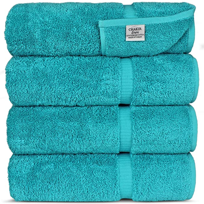 Chakir Turkish Linens Turkish Cotton Luxury Hotel & Spa Bath Towel