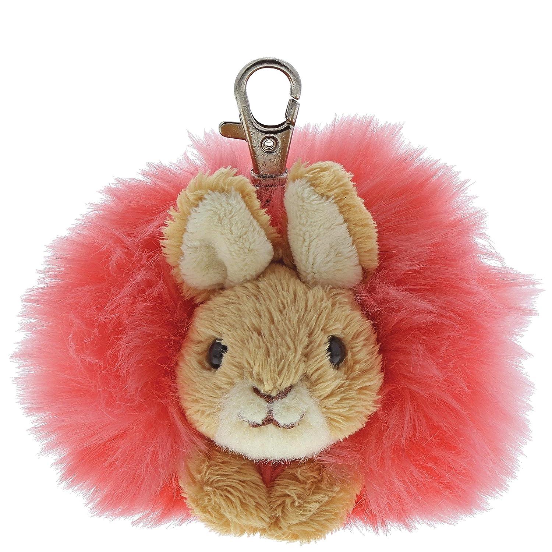 GUND Peter Rabbit Flopsy Pom Pom Keyring Enesco A29065