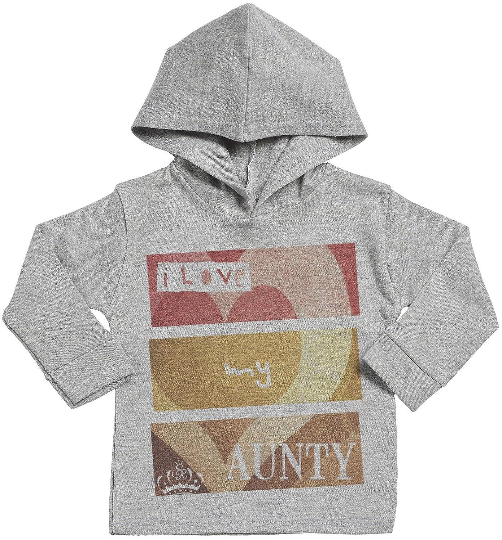 I Love My Aunty Baby Hoodie Baby Gift Baby Hooded Sweatshirt Baby Boy Hoodie Baby Girl Hoodie SR