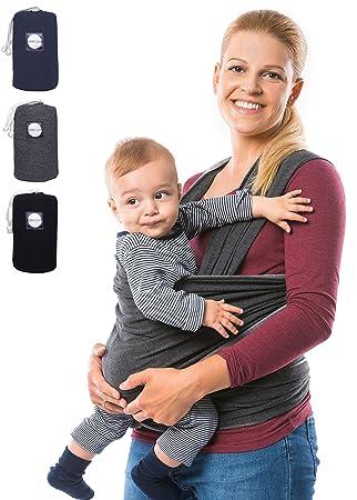 270b5119e6b5 Komo  lole ® Premium Baby Porte-bébé – Porte-bébé élastique pour première
