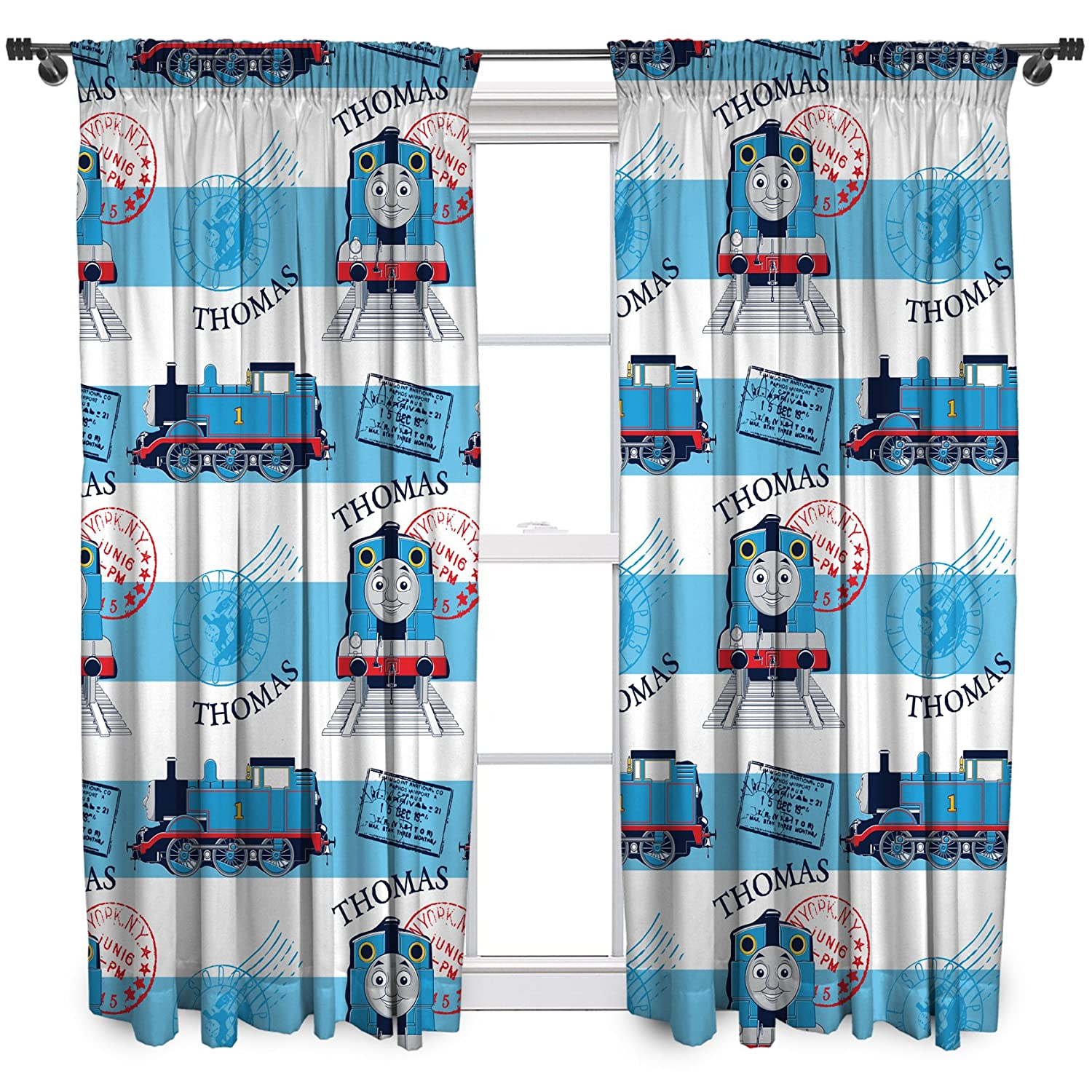 Thomas The Tank Engine Curtains 72 Drop Www