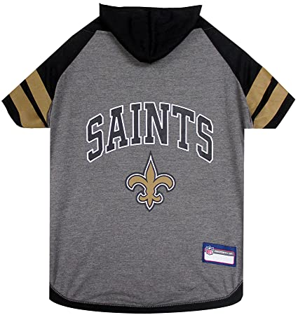 Amazon.com   NFL New Orleans Saints Hoodie for Dogs   Cats.  744ae24b0
