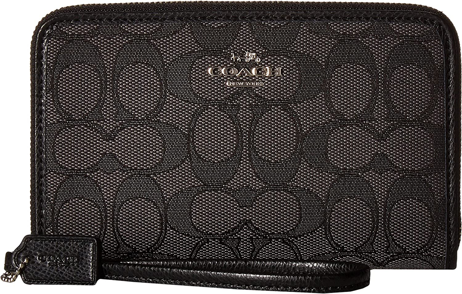 COACH Women's Box Program Signature Zip Organizer