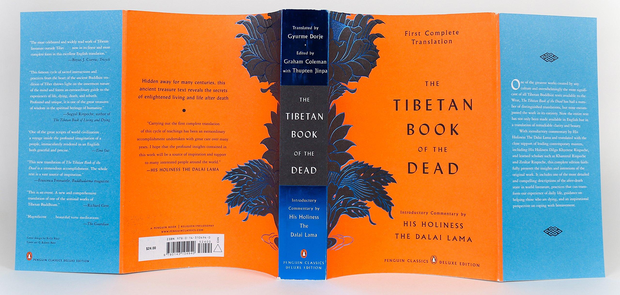 the tibetan book of the dead coleman graham dorje gyurme jinpa thupten
