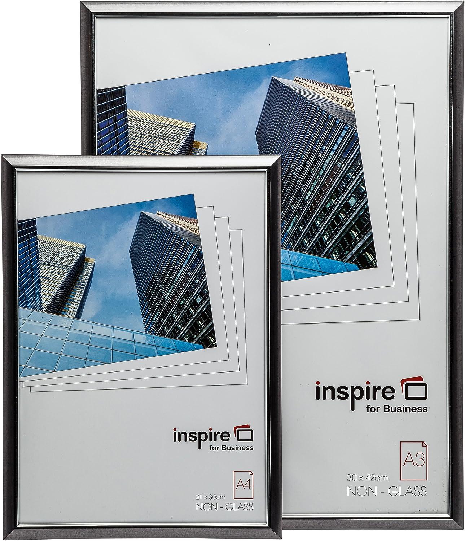 Inspire for Business EASA4BKP Cadre Photo/Noir A4