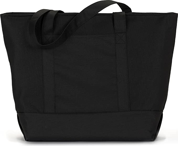 a5f9bb5c96512 Amazon.com  Liberty Bags Bay View Boat Tote (Black) (All)  Clothing