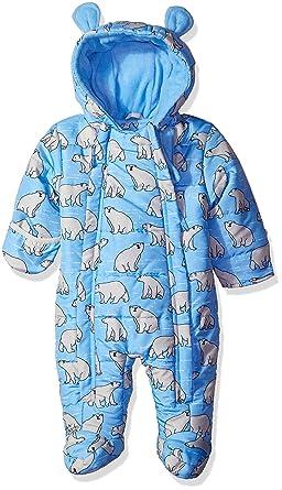 Amazon Com Wippette Baby Boys Polar Bear Micro Fiber Pram Clothing