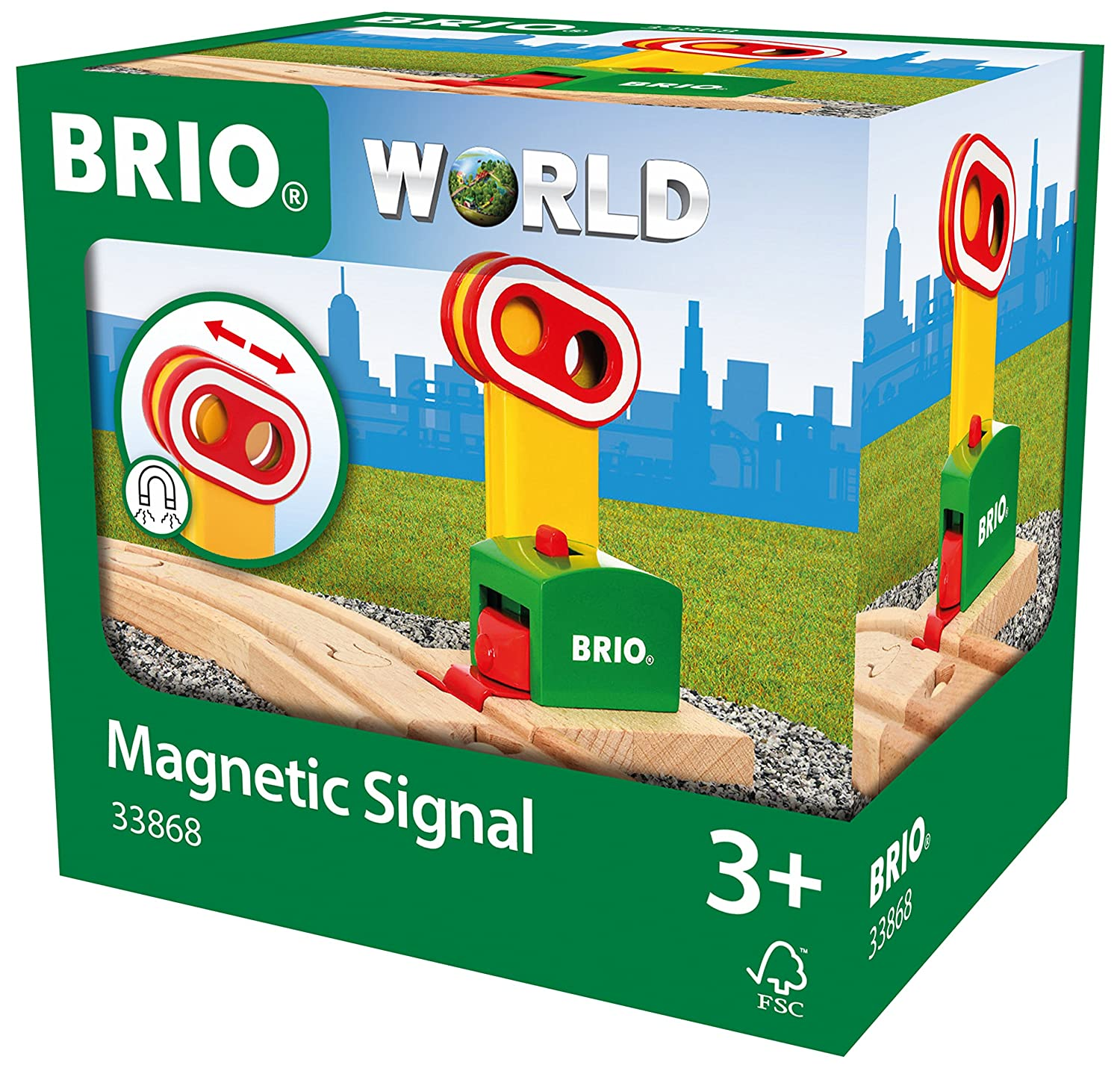 BRIO My First Railway Magnetic Signal 33868
