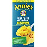 Annie's Gluten Free Macaroni and Cheese, Rice Pasta & Cheddar Mac and Cheese, 6 oz Box