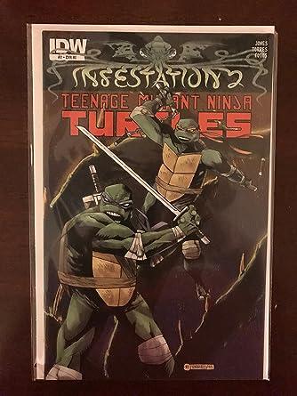 Infestation 2 Teenage Mutant Ninja Turtles #2 2012 IDW ...