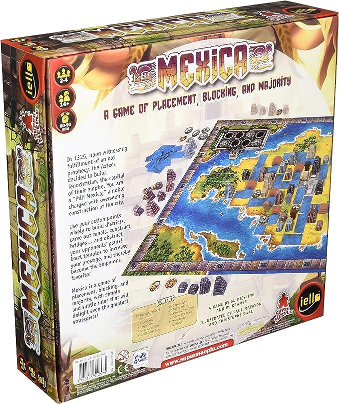 Iello Mexica Board Game: Amazon.es: Juguetes y juegos