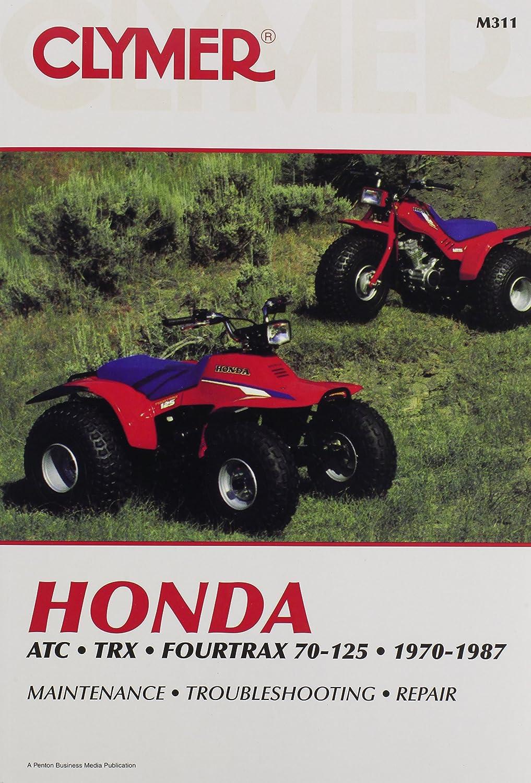 1986-1987 Honda Fourtrax 70 Repair Manual Clymer M311 Service Shop Garage