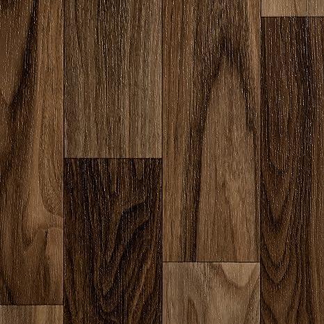 Dielenoptik Eiche dunkel Gr/ö/ße: 3 x 3 m 200 PVC Bodenbelag Holzoptik Meterware 300 und 400 cm Breite verschiedene Gr/ö/ßen