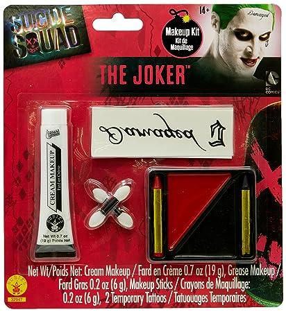 Amazon.com: Rubie's Costume Co Men's Suicide Squad Costume Make-up Kit: Toys & Games