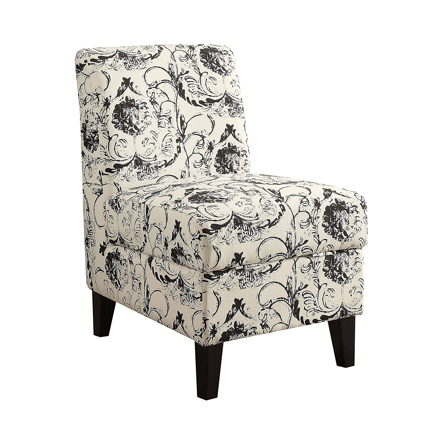 Pleasant Amazon Com Acme Furniture 59615 Ollano Ii Accent Chair With Gmtry Best Dining Table And Chair Ideas Images Gmtryco