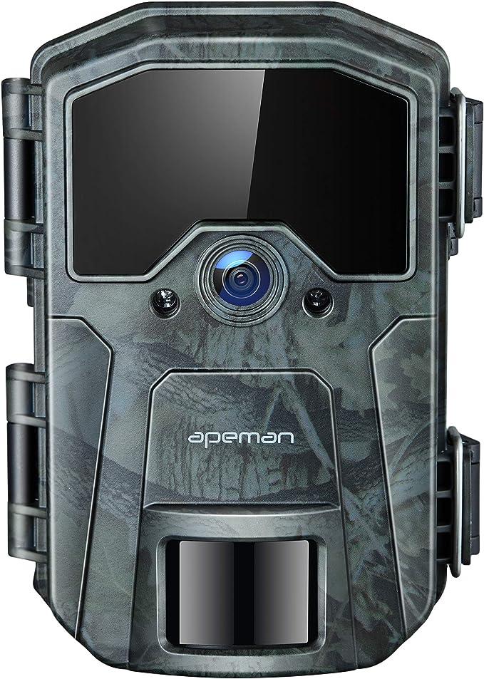 Giardino Sorveglianza Di Sicurezza Domestica Trail Camera 720P PIR Telecamera Antifurto Per Visione Notturna A Infrarossi Telecamera Da Caccia Impermeabile Per Monitoraggio Della Fauna Selvatica