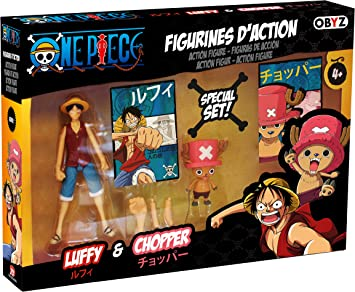 ABYstyle Abysse America One Piece - Luffy & Chopper Action Figure ...