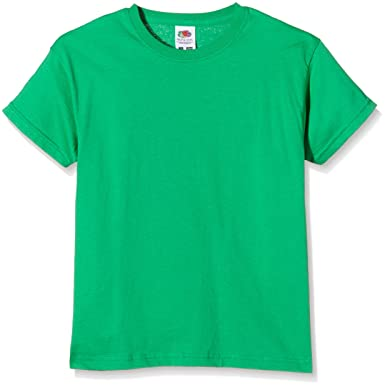 78847009 Image Unavailable. Image not available for. Colour: Fruit of the Loom  Unisex Kids Original T. T-Shirt ...