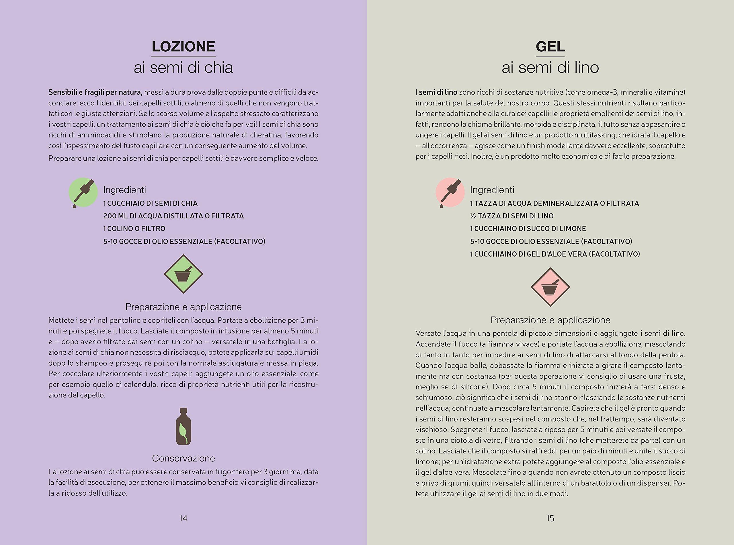 Capelli al naturale. Guida alla cura quotidiana. Ricette, video e consigli: Federica Cimetti: 9782889351107: Amazon.com: Books