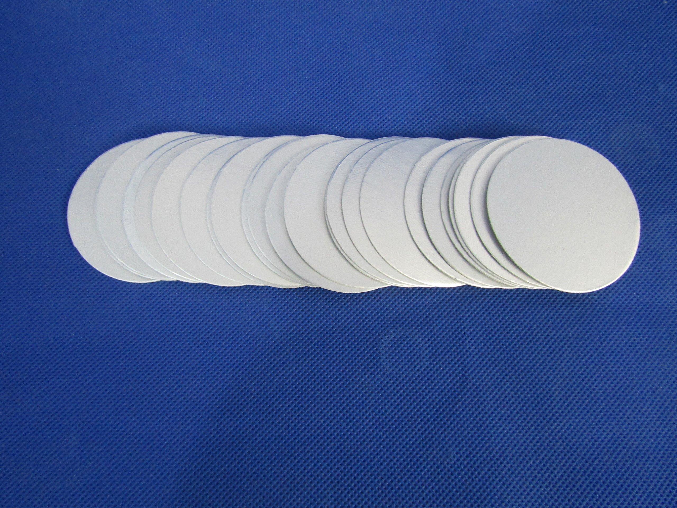 10000pcs 35mm Induction SealingPlastic Laminated Aluminum Foil Lid Liners