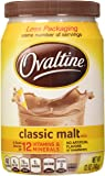 Ovaltine Classic Malt Flavored Milk Mix, 12 oz