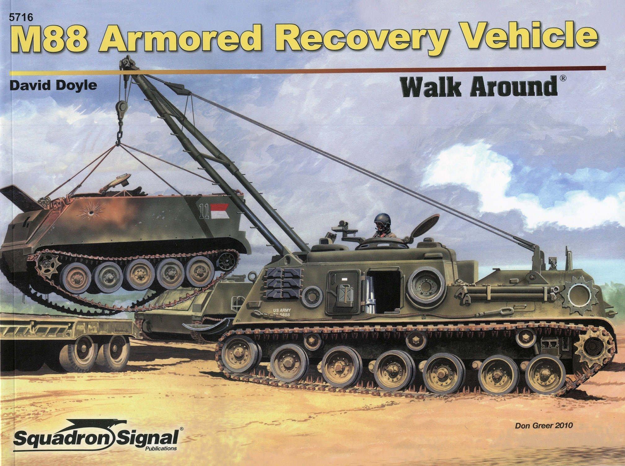 M88 armored recovery vehicle armor walk around no 16 david doyle m88 armored recovery vehicle armor walk around no 16 david doyle 9780897475990 amazon books reheart Images