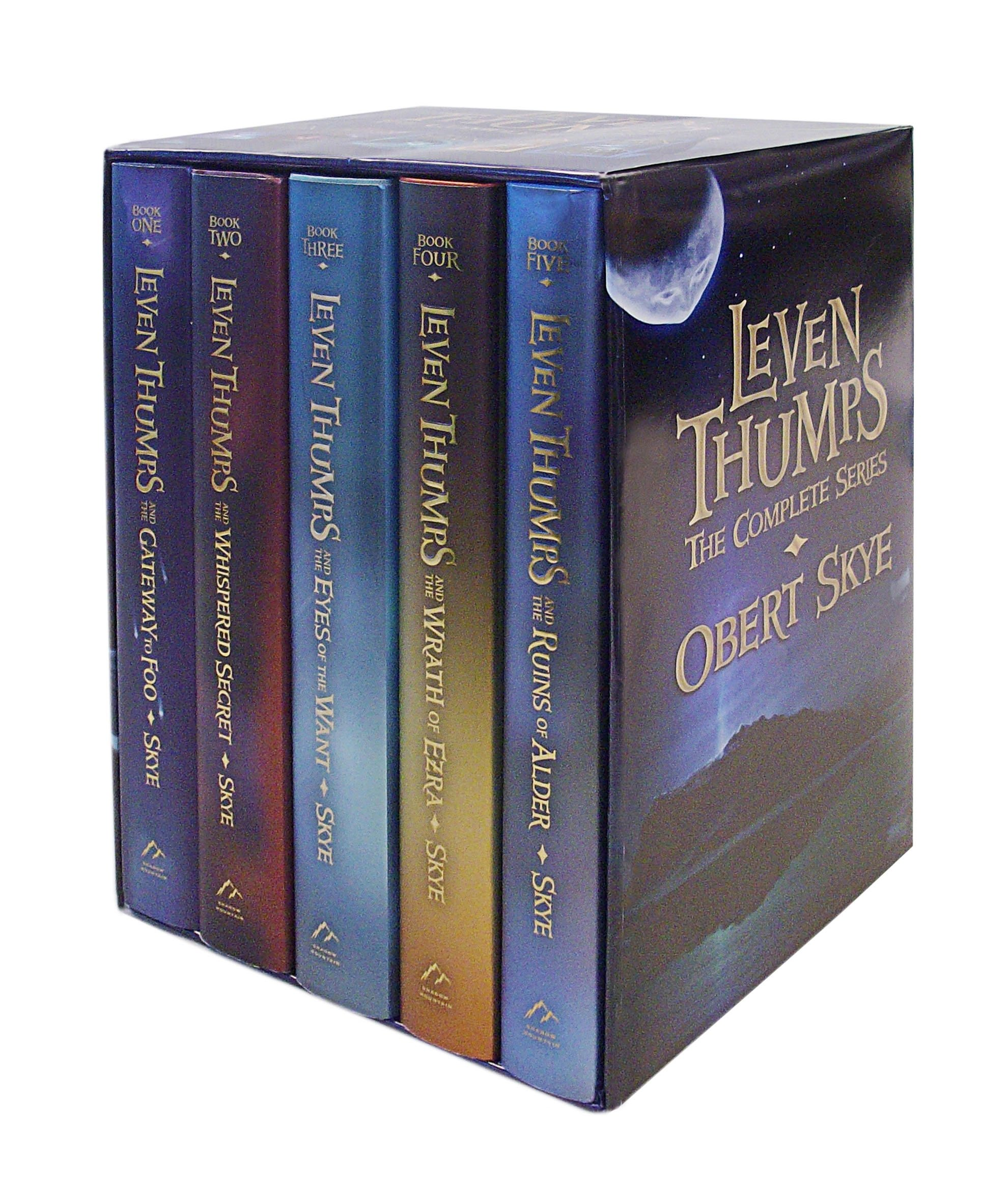 Read Online Leven Thumps- The Complete Series (Boxed Set) ebook