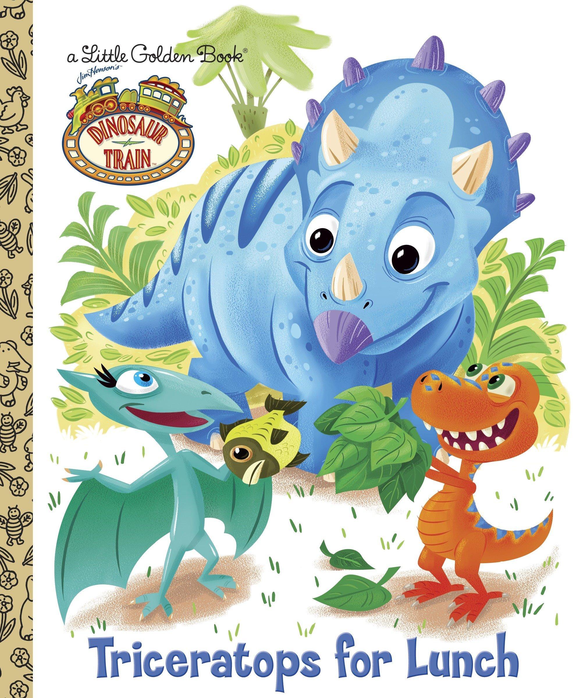 Dinosaur Train: Triceratops for Lunch (Little Golden Book) pdf