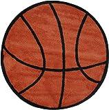 """LA Rug Basketball Rug 39""""RD"""