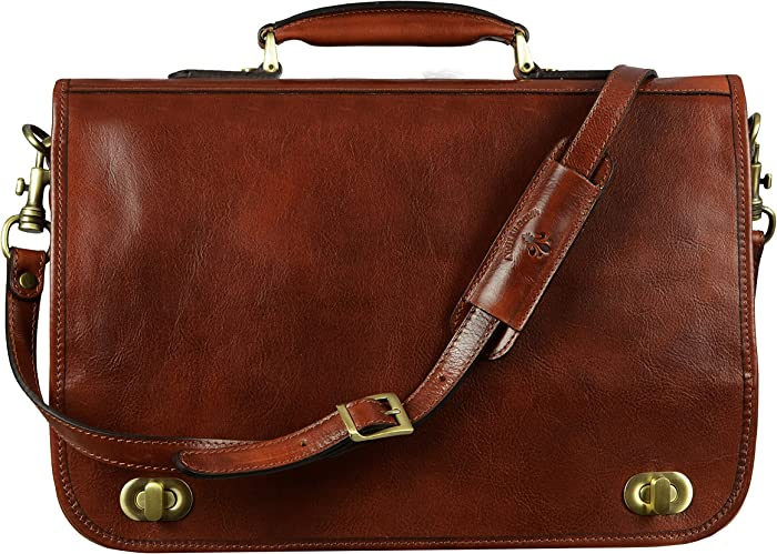 Top 9 Laptop Briefcase For Men Leather