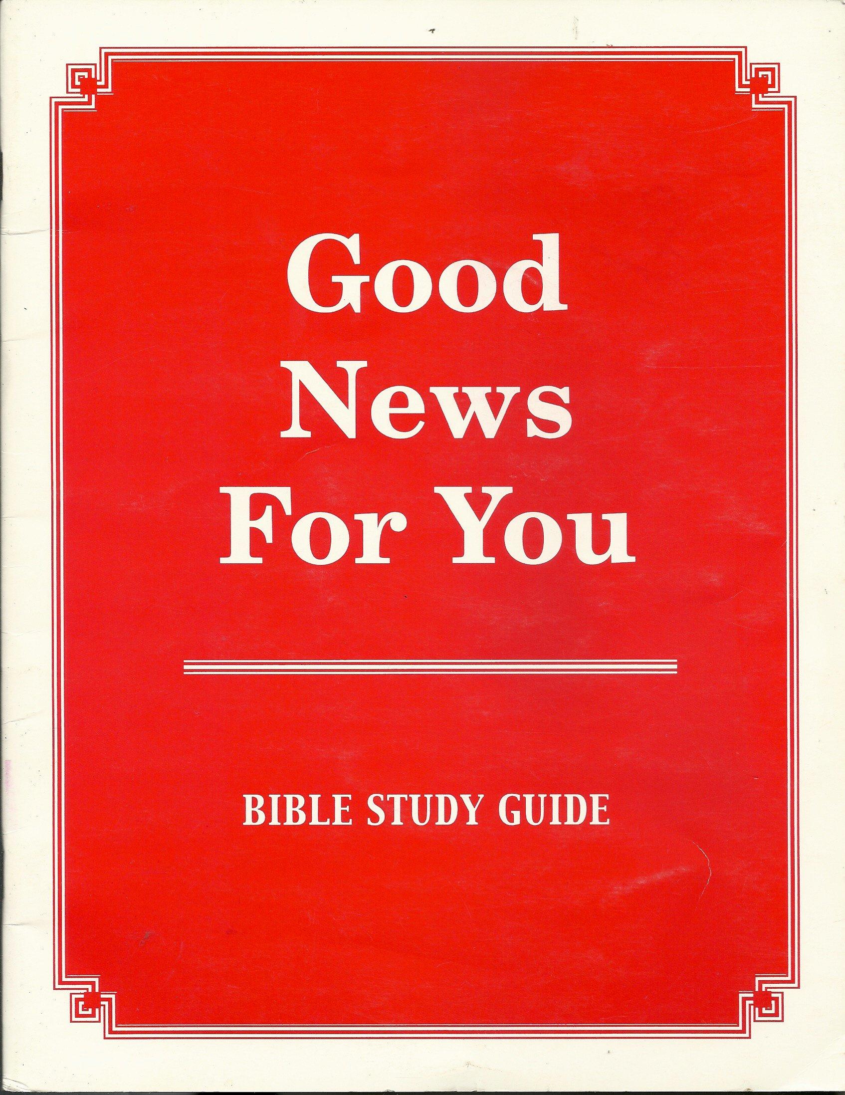 Good News for You / Bible Study Guide 1994: charles brock: Amazon.com: Books