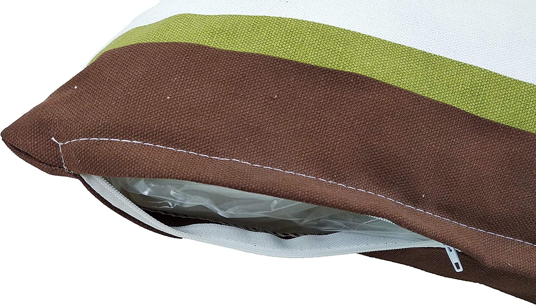 Relleno, 45x45cm Cojines Rellenos Sofa hipoalerg/énicas para Funda Decoracion y para Almohadas de Cama Pack de 4 Unidades