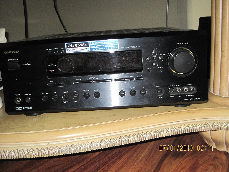 Onkyo TX-SR702 7.1 Channel Home Theater Receiver Black TXSR702