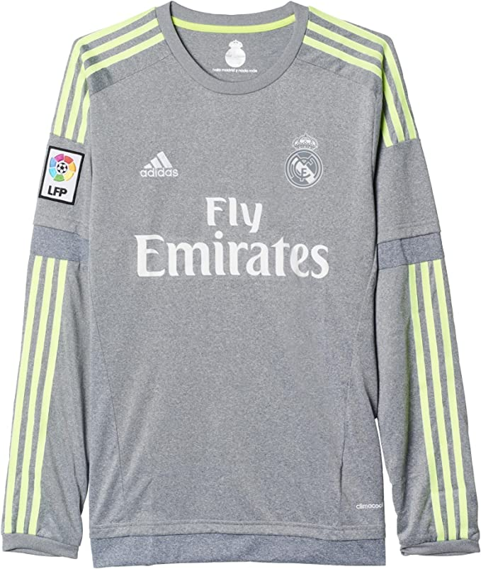 adidas Real Away Long Sleeve - Camiseta/Camisa Deportivas para ...