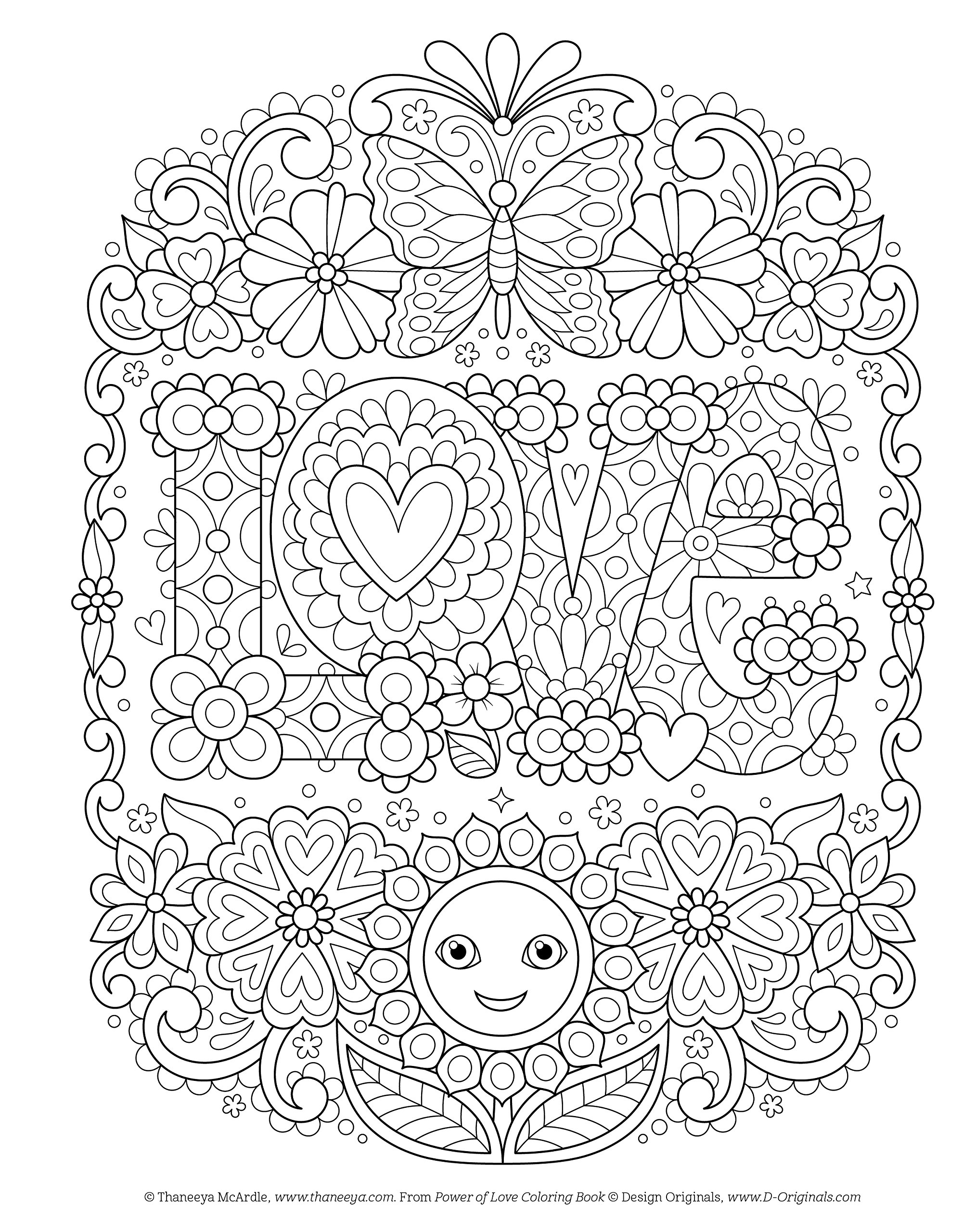 Power of Love Coloring Book (Coloring Is Fun): Amazon.de ...