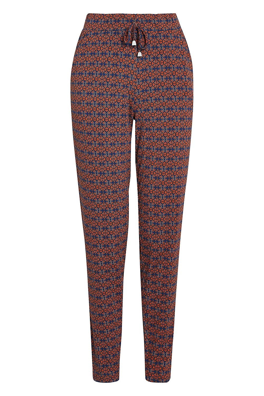 next Mujer Pantalones De Chándal Naranja Geo Impreso EU 44 (UK 16 ...