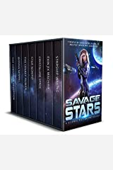 Savage Stars: 7 Novels of Space Opera, Aliens, AI, and Post Apocalyptic Adventure Kindle Edition