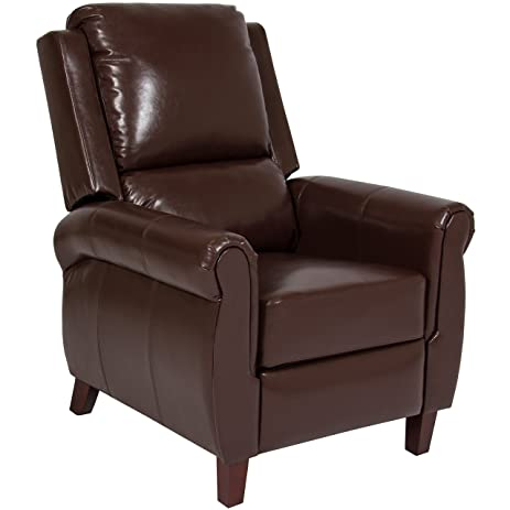Best Choice Products Leather Recliner Accent Chair Push Back Living Room  Home Furniture W/ Leg