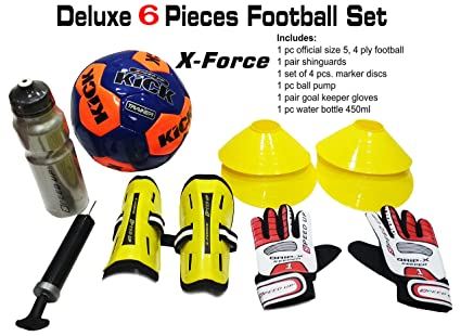 5f6130753 Buy Speed Up Kid s Deluxe Football Training-Set will Provide Complete-Football  Training Experience - 6 Pieces (Assorted colour) Online at Low Prices in ...