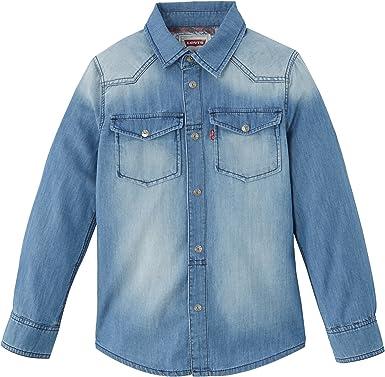 Levis - Camisa para niño, Talla 4 años (4 años), Color Azul ...