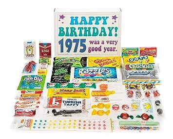 Amazon Woodstock Candy 1975 43rd Birthday Gift Box